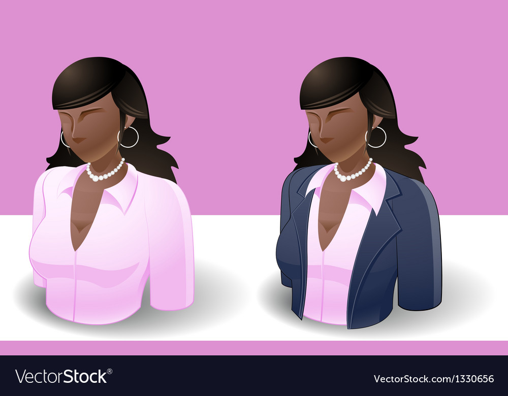 People icons women vector   Price: 3 Credit (USD $3)