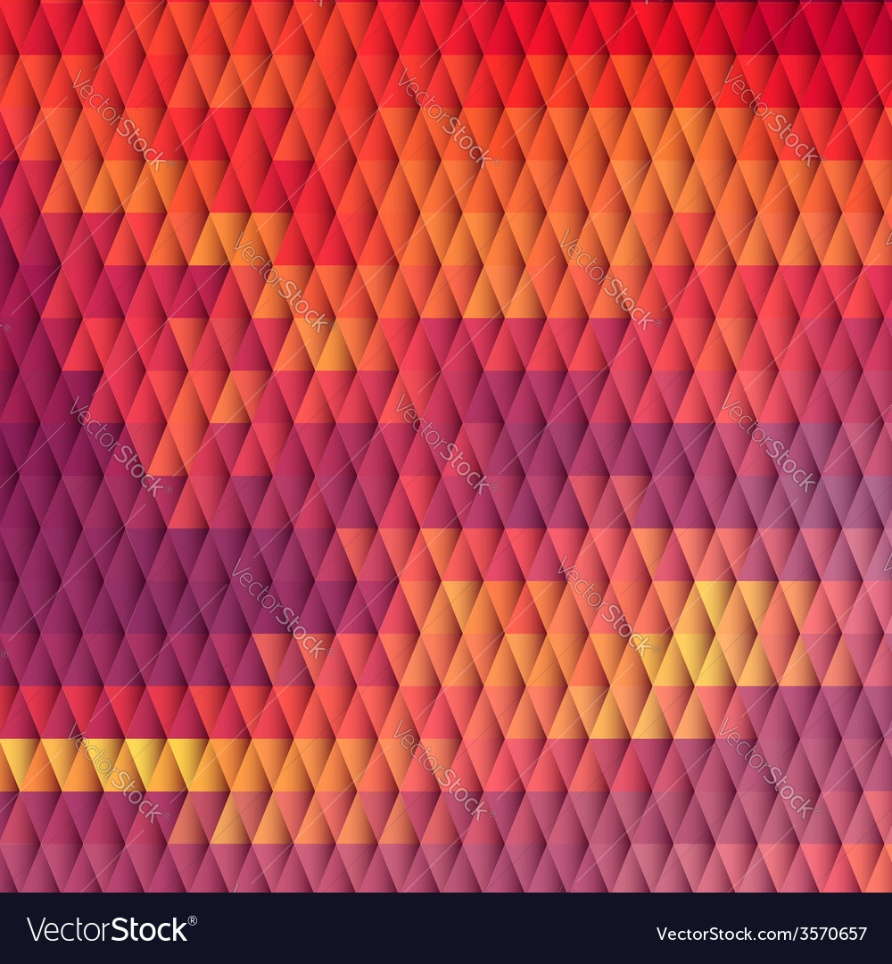 Sundown themed background with diamond grid vector | Price: 1 Credit (USD $1)