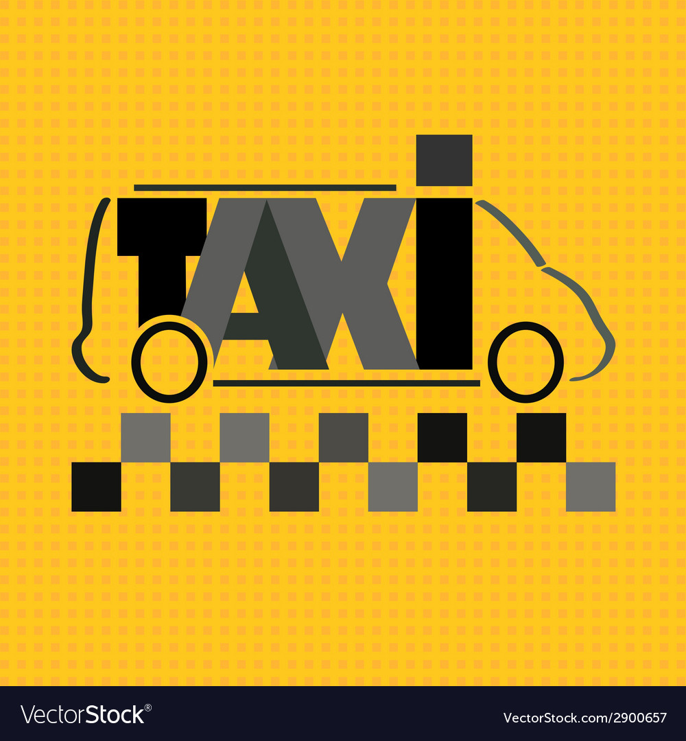 Taxi bus vector | Price: 1 Credit (USD $1)
