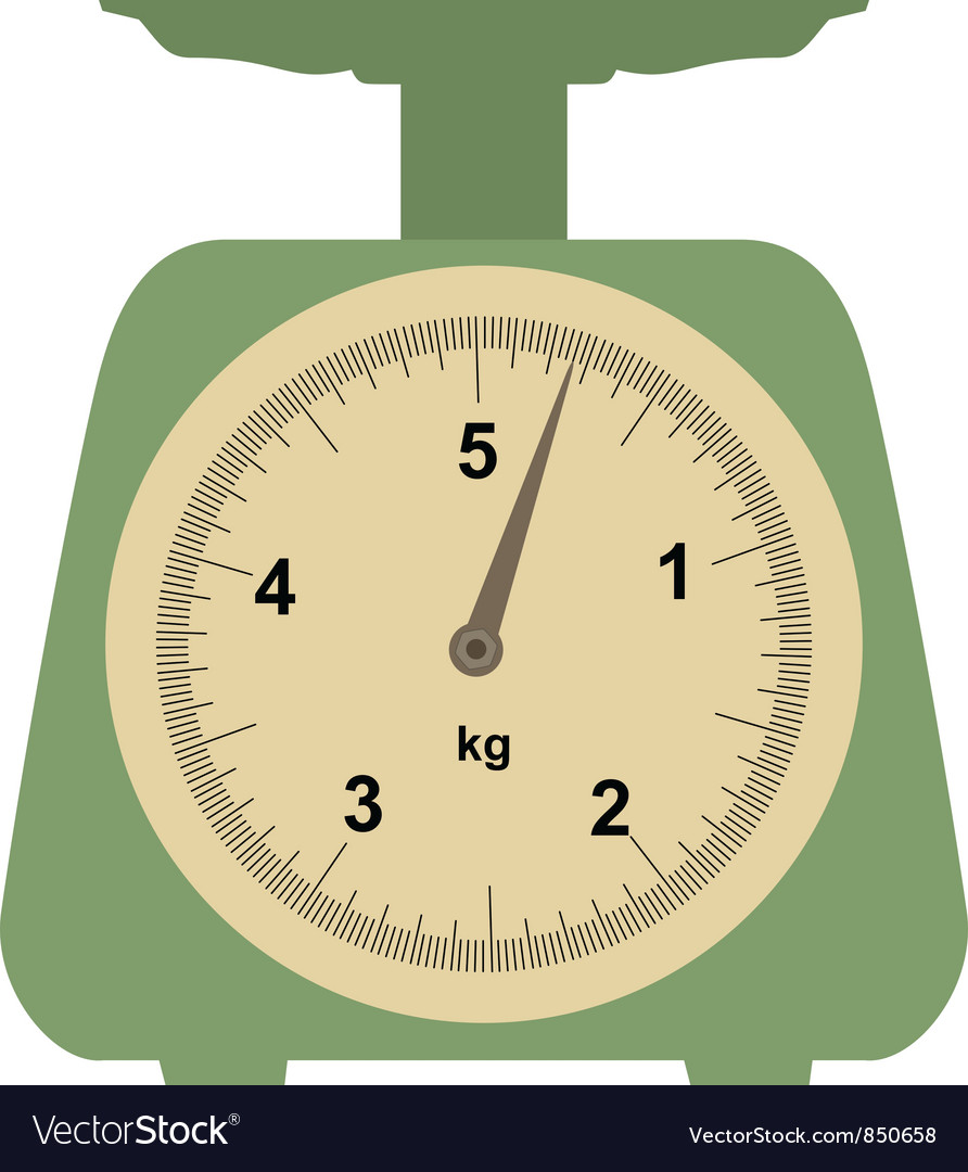 Domestic weigh-scales vector | Price: 1 Credit (USD $1)
