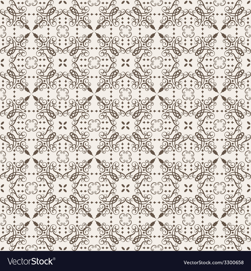 Elegant stylish abstract floral wallpaper vector | Price: 1 Credit (USD $1)
