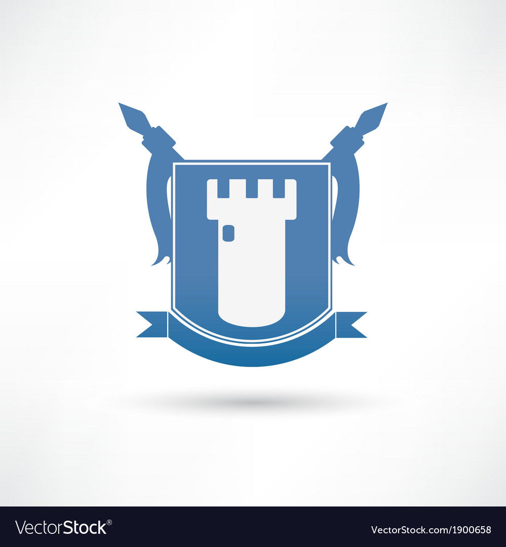 Fortress icon vector | Price: 1 Credit (USD $1)