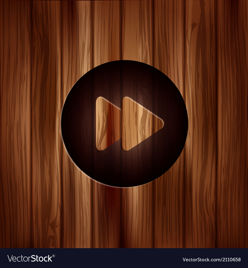 Forward or skip icon media player vector | Price: 1 Credit (USD $1)