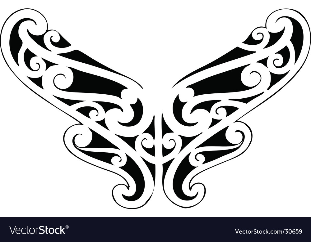Celtic heart symbol vector | Price: 1 Credit (USD $1)