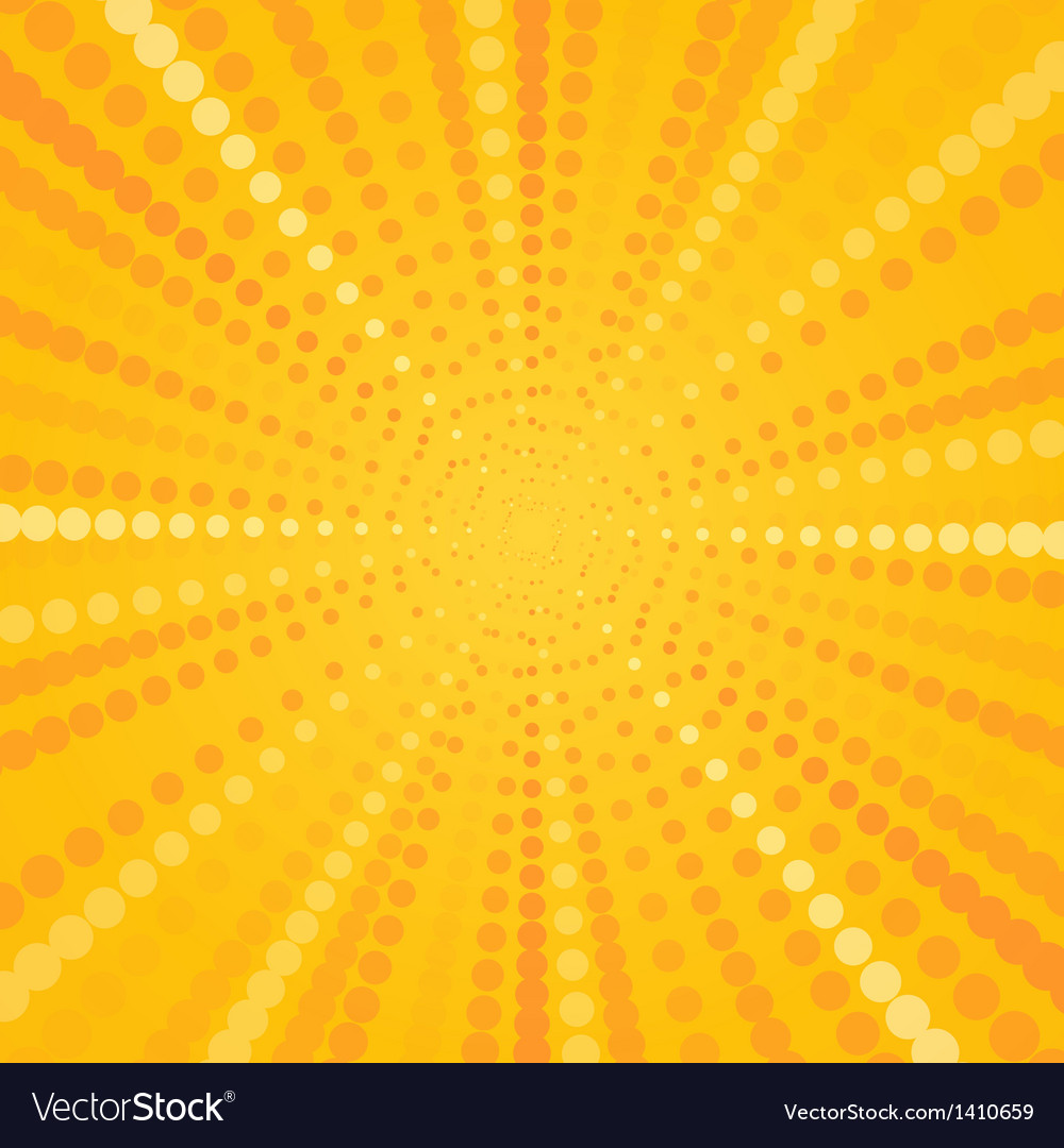 Yellow halftone star vector | Price: 1 Credit (USD $1)