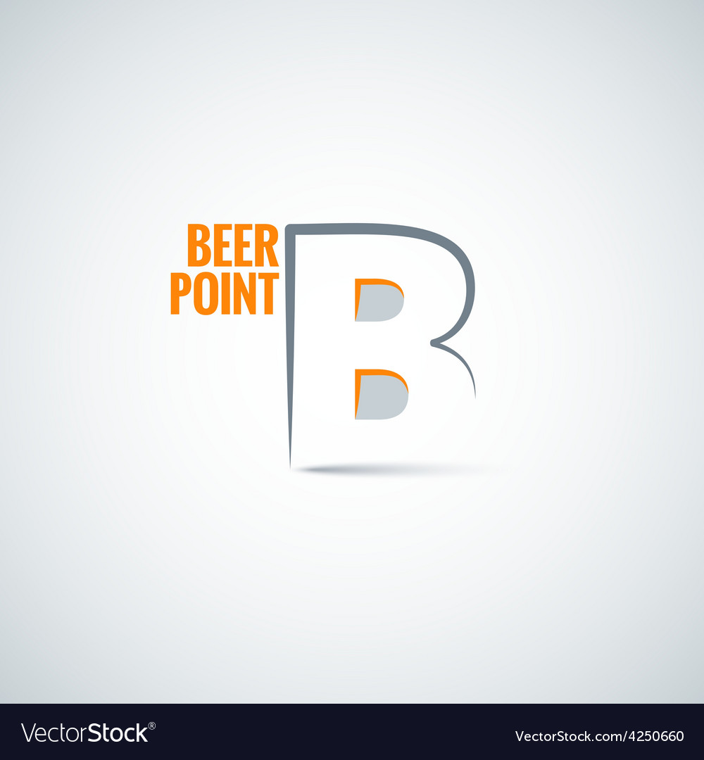 Beer point background vector | Price: 1 Credit (USD $1)