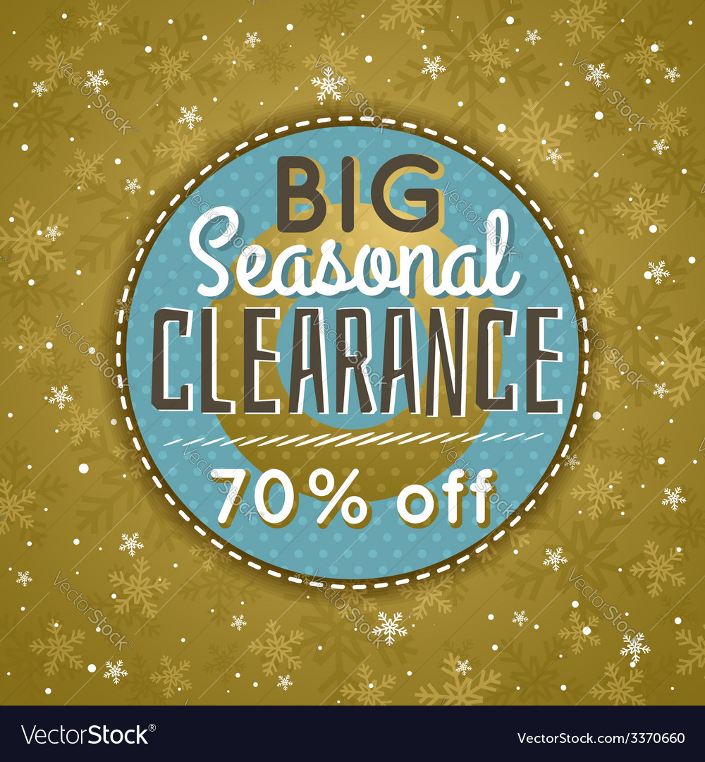 Golden christmas background and sale offer vector   Price: 1 Credit (USD $1)