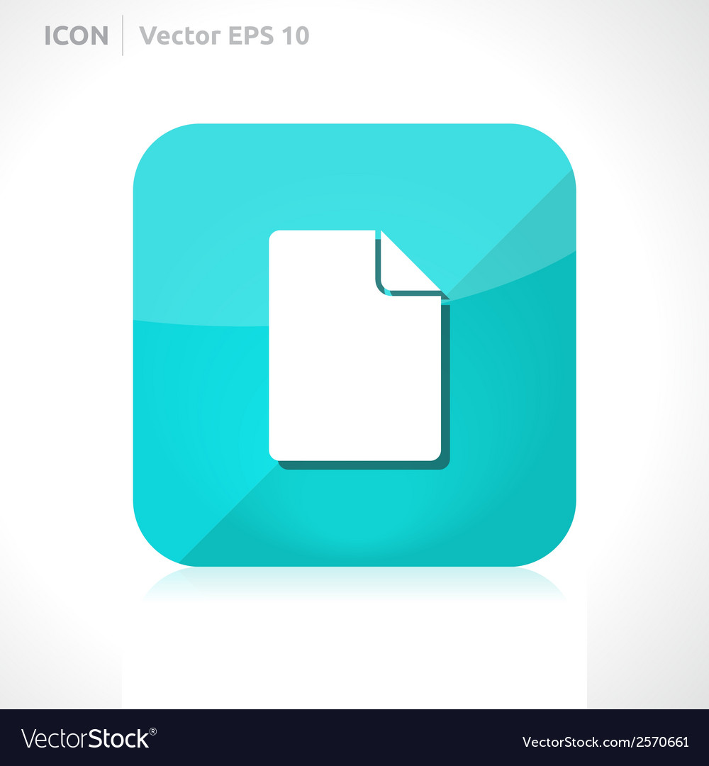 File icon vector | Price: 1 Credit (USD $1)