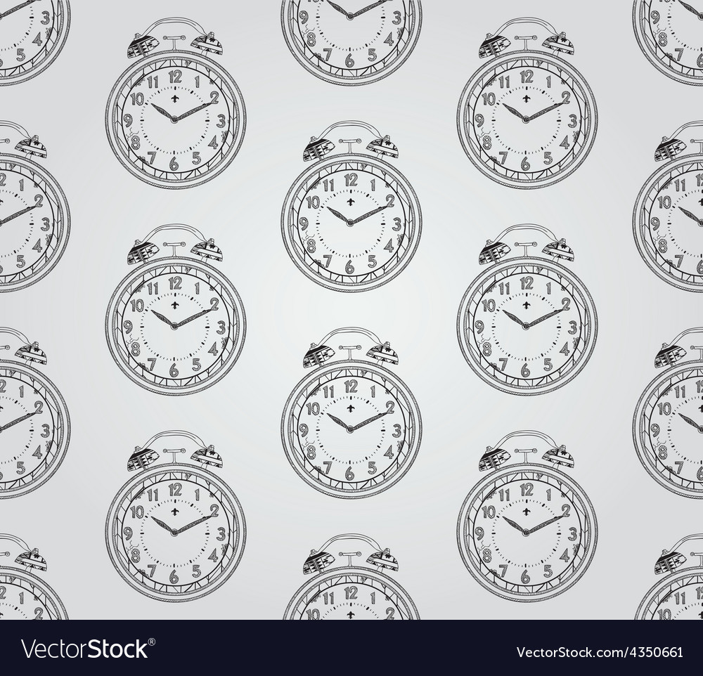 Vintage hand drawn seamless pattern vector | Price: 1 Credit (USD $1)