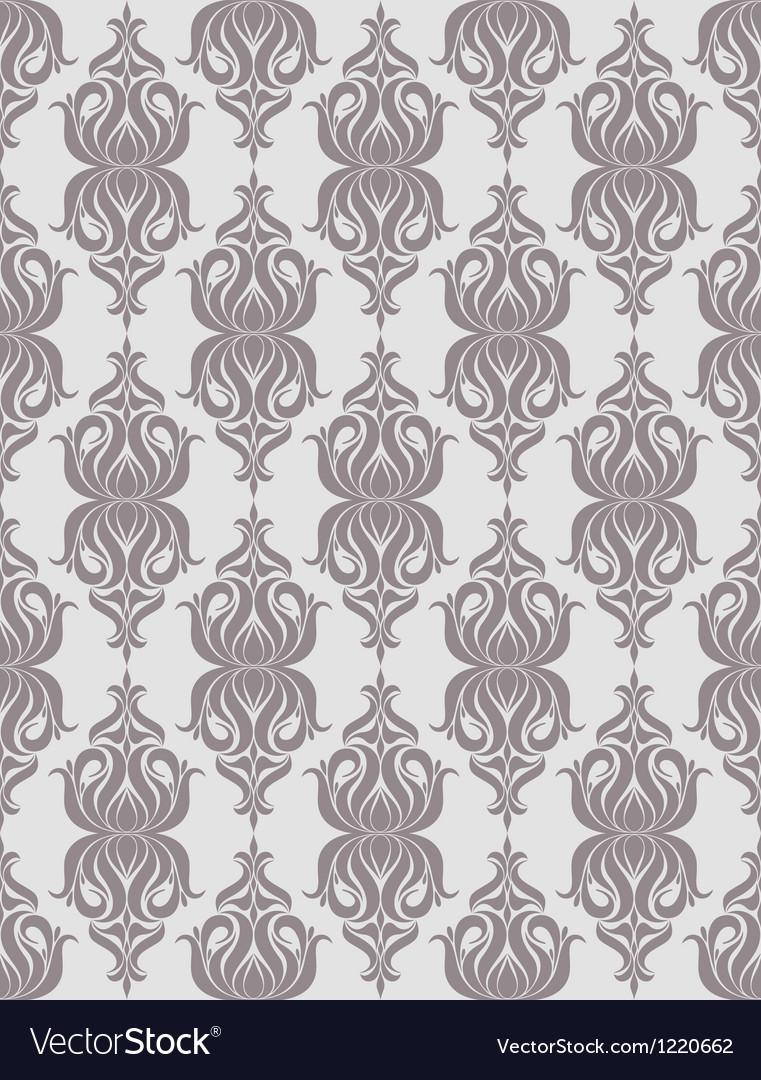Vintage floral pattern vector | Price: 1 Credit (USD $1)