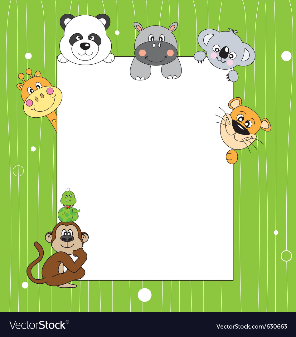 Animal frame vector | Price: 1 Credit (USD $1)