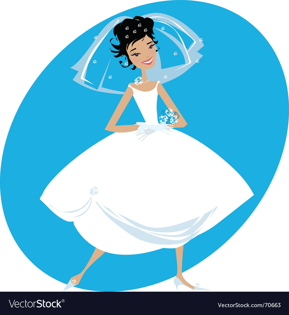 Bride vector | Price: 3 Credit (USD $3)