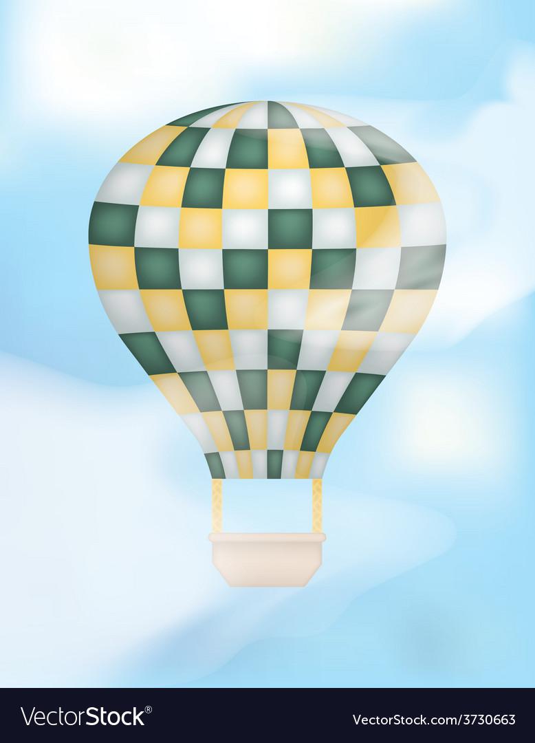 Hot air balloon vector   Price: 1 Credit (USD $1)