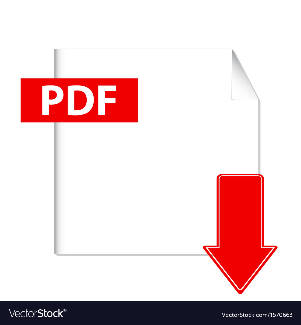 Pdf download button vector | Price: 1 Credit (USD $1)