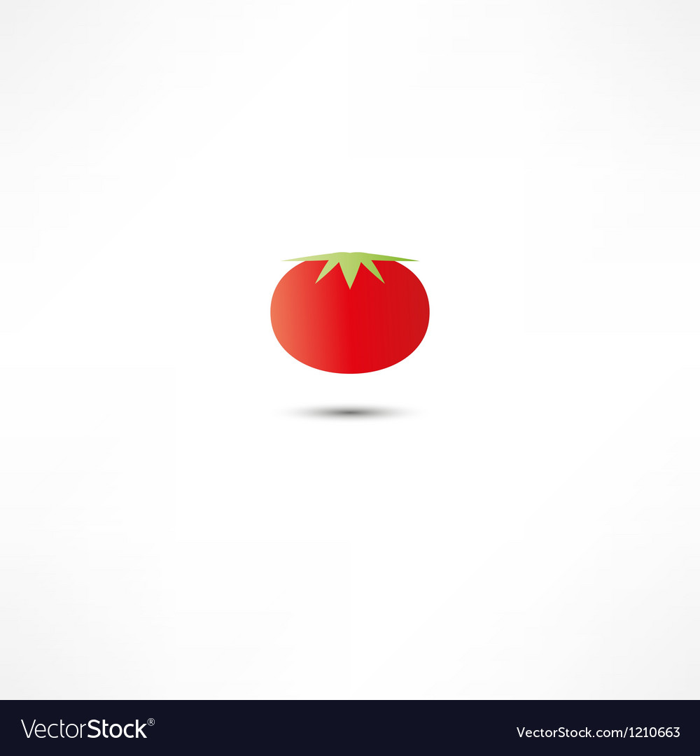 Tomato icon vector | Price: 1 Credit (USD $1)
