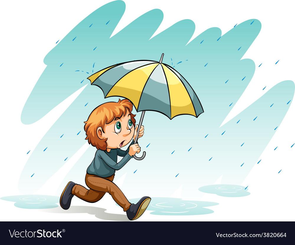 A heavy rain vector | Price: 1 Credit (USD $1)