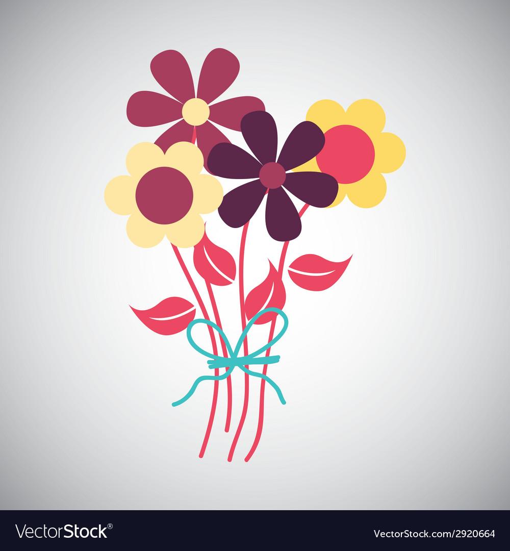 Flowers design vector   Price: 1 Credit (USD $1)