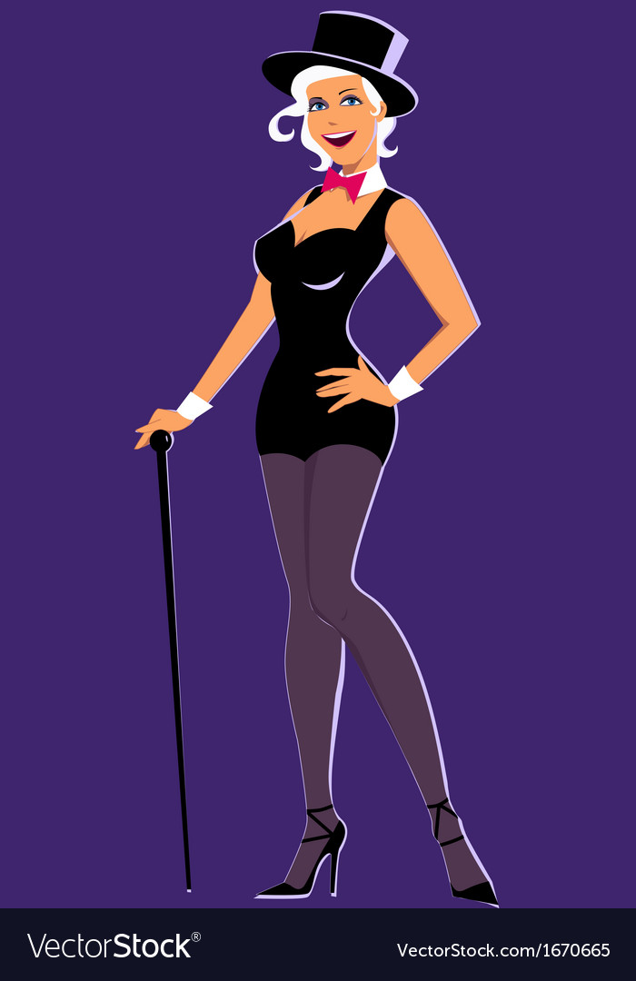 Showgirl vector | Price: 1 Credit (USD $1)