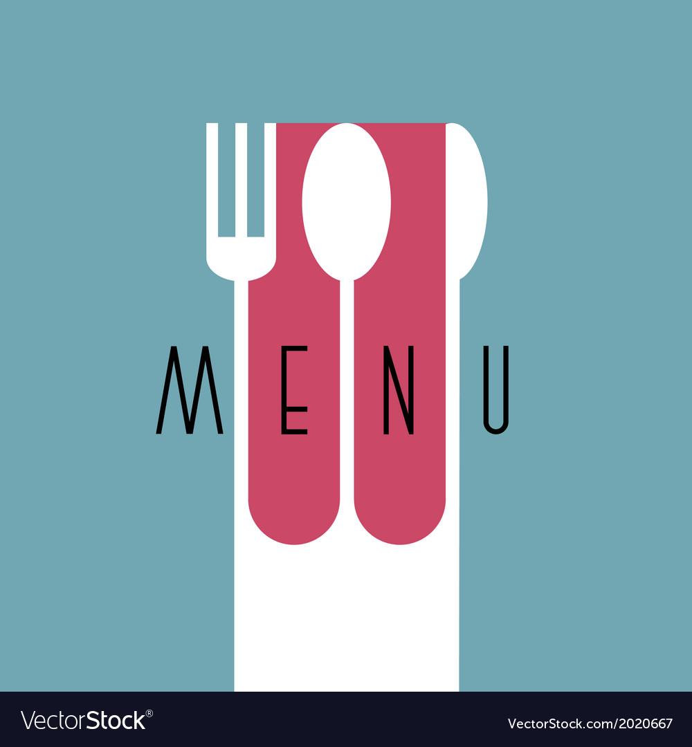 Stylish restaurant menu design in minimal style vector   Price: 1 Credit (USD $1)
