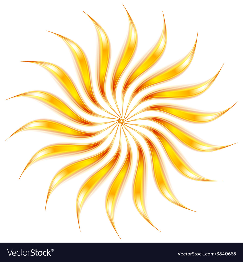 Abstract shiny glowing sunny shape vector | Price: 1 Credit (USD $1)