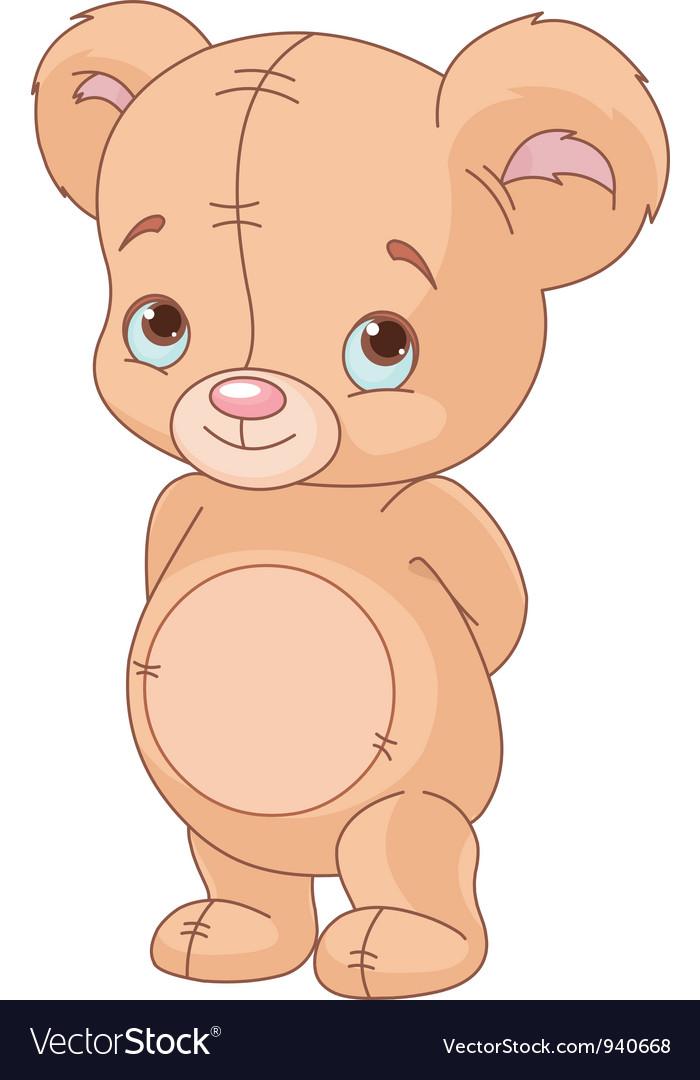 Cute teddy bear vector | Price: 3 Credit (USD $3)