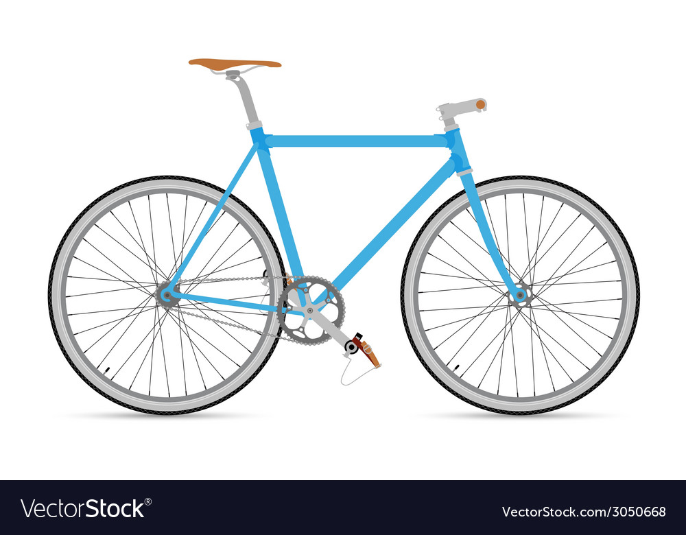 Fixed gear bicycle vector | Price: 1 Credit (USD $1)