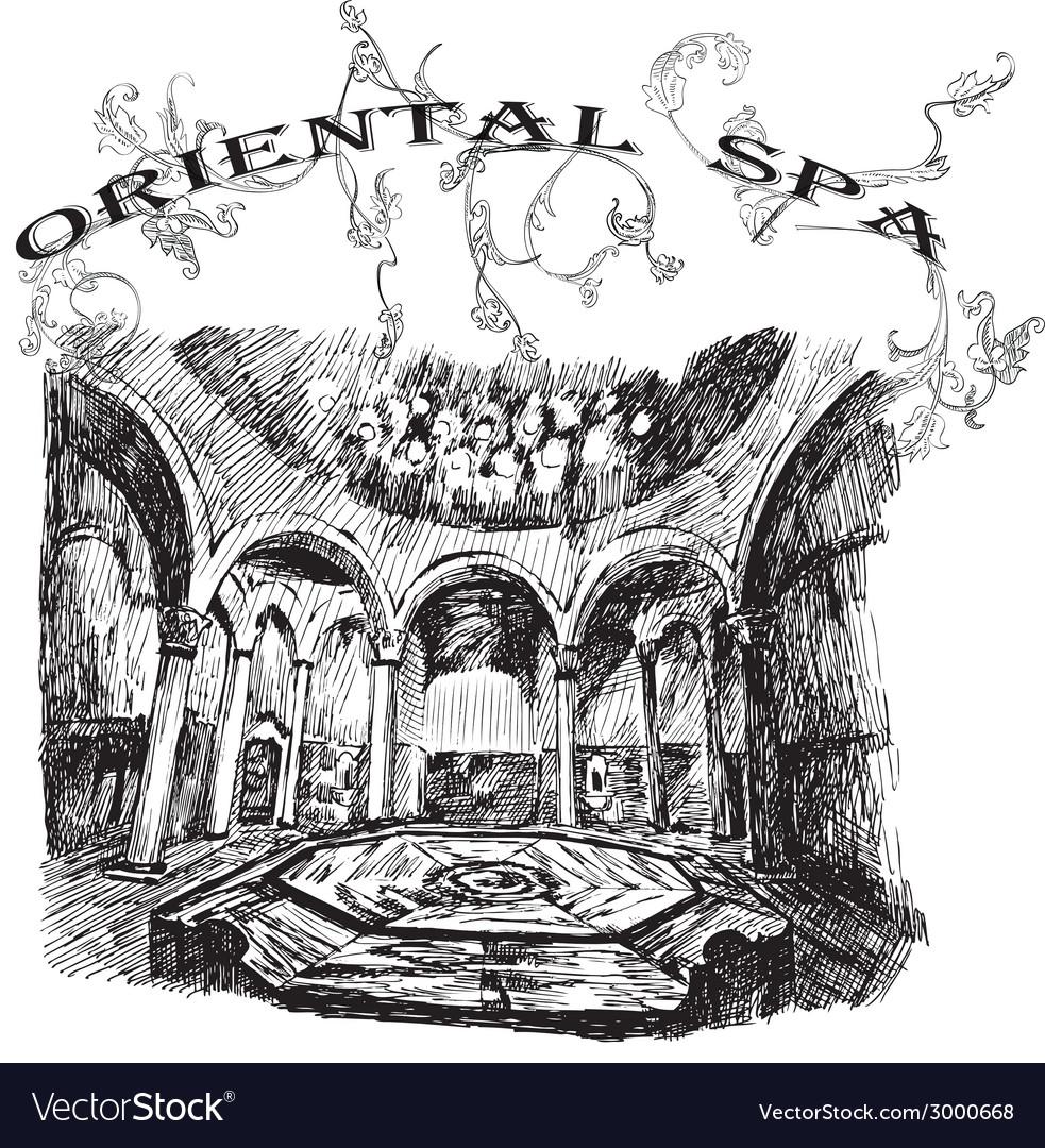 Oriental spa vector | Price: 1 Credit (USD $1)