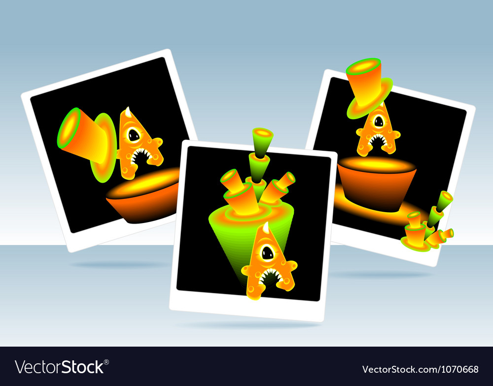 Photos monster letters a after party vector | Price: 1 Credit (USD $1)