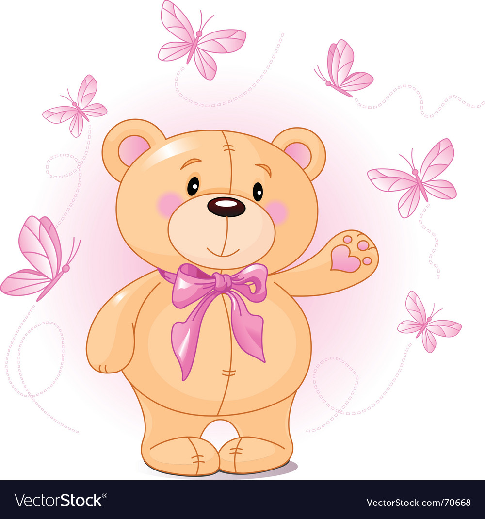 Teddy bear vector | Price: 1 Credit (USD $1)
