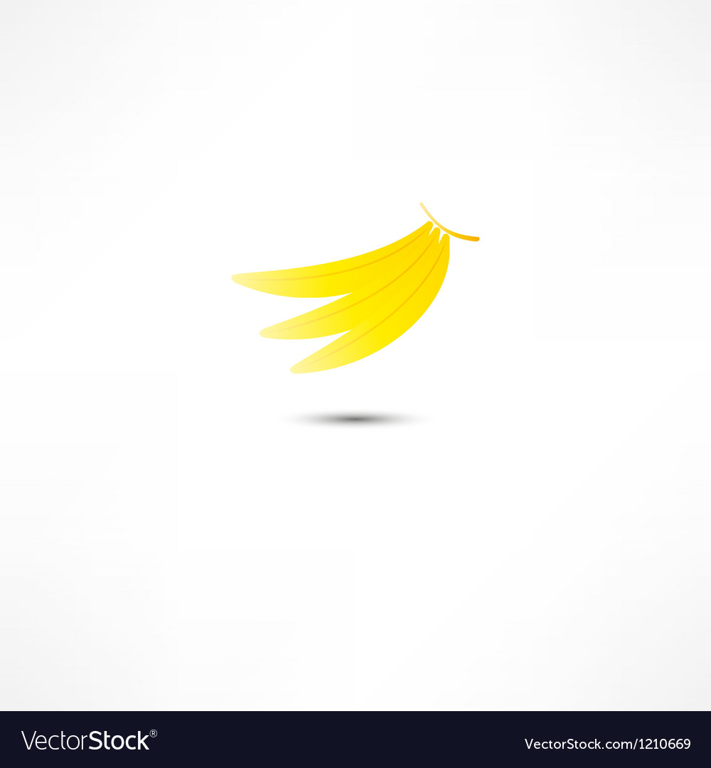 Bananas icon vector | Price: 1 Credit (USD $1)