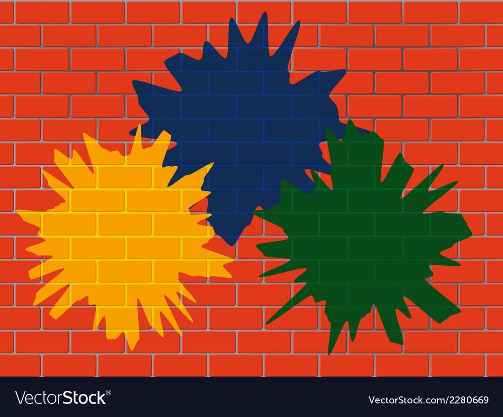 Brick wall vector | Price: 1 Credit (USD $1)