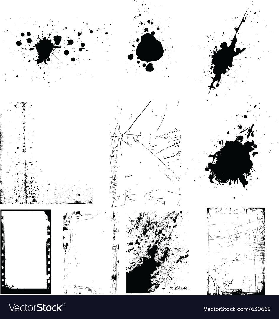 Grunge design elements vector   Price: 1 Credit (USD $1)