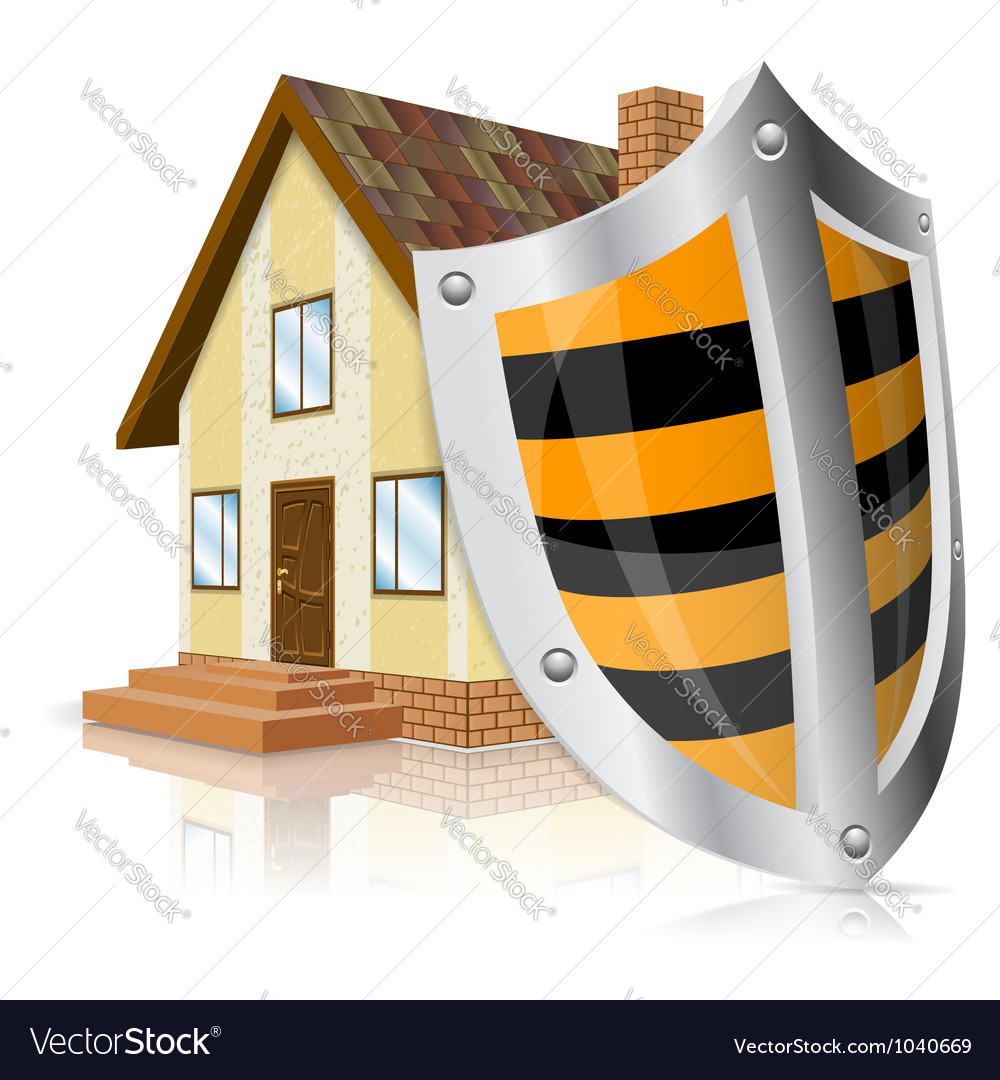 Safe house concept vector | Price: 1 Credit (USD $1)