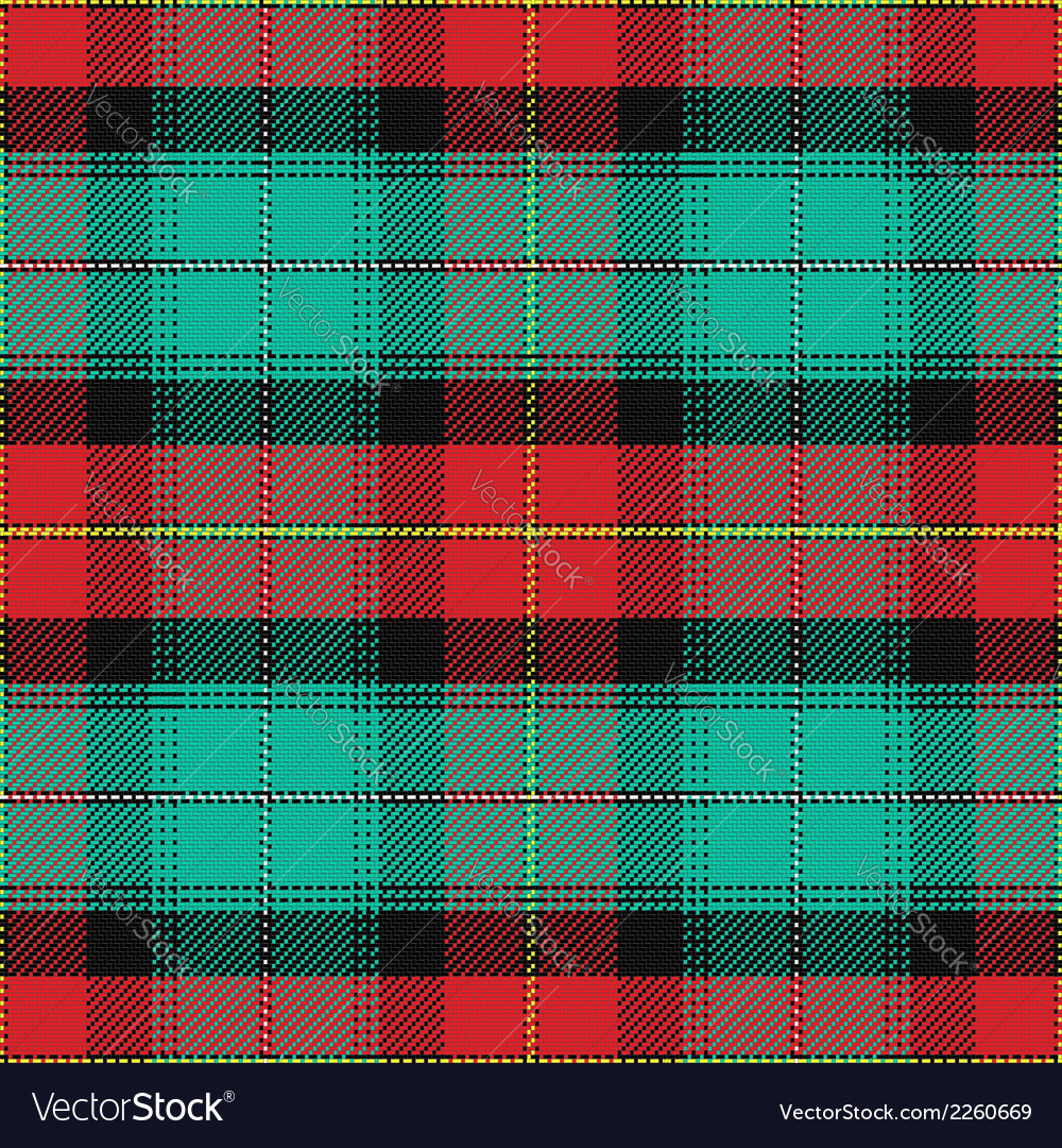 Seamless pattern scottish tartan prince edward isl vector | Price: 1 Credit (USD $1)
