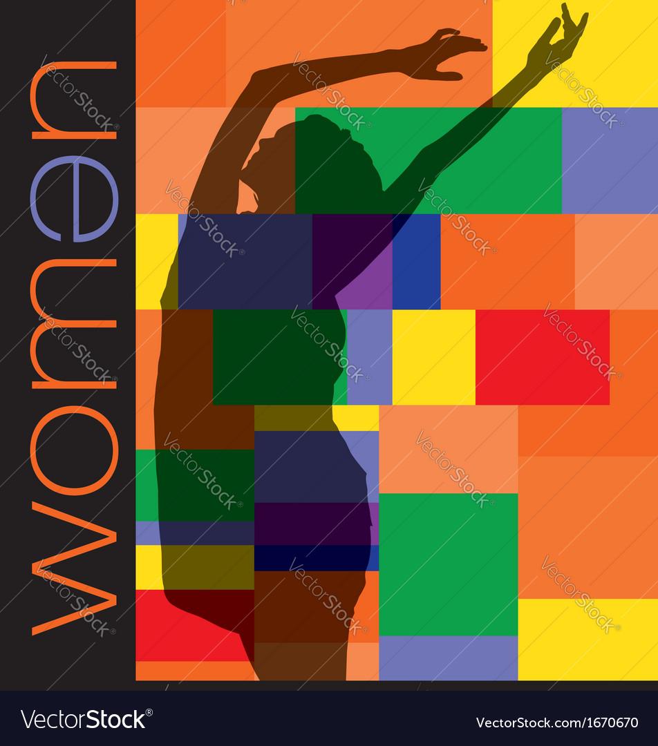 Fashion woman vector | Price: 1 Credit (USD $1)