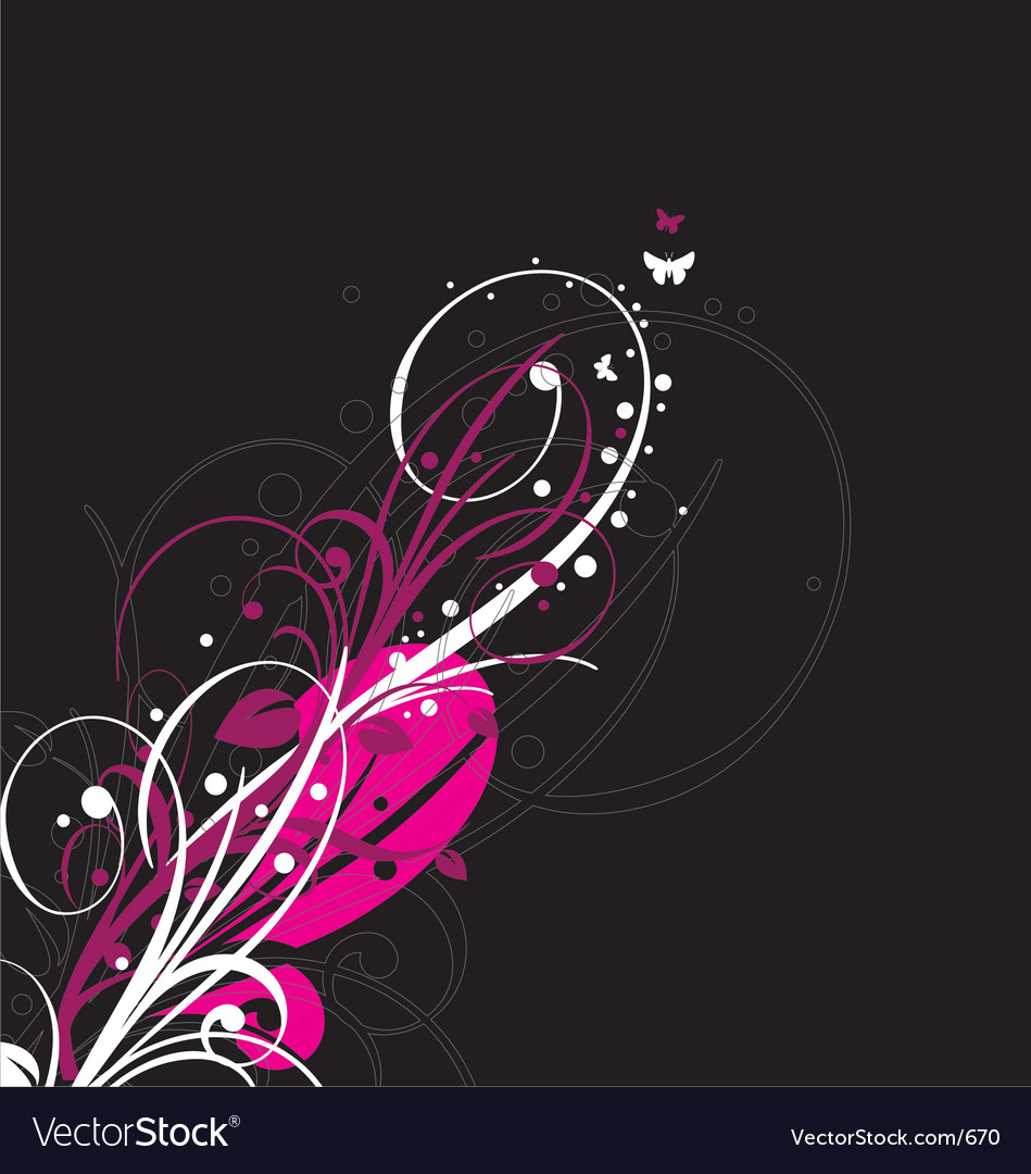 Graphic bloom vector | Price: 1 Credit (USD $1)