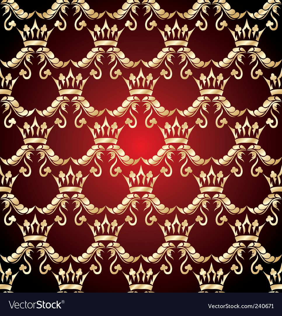 Crown seamless vector | Price: 1 Credit (USD $1)