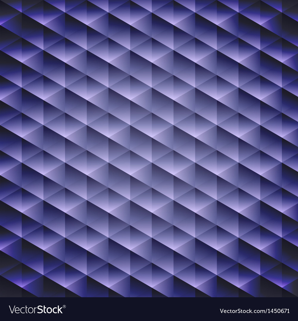 Dark blue geometric cubic background vector | Price: 1 Credit (USD $1)
