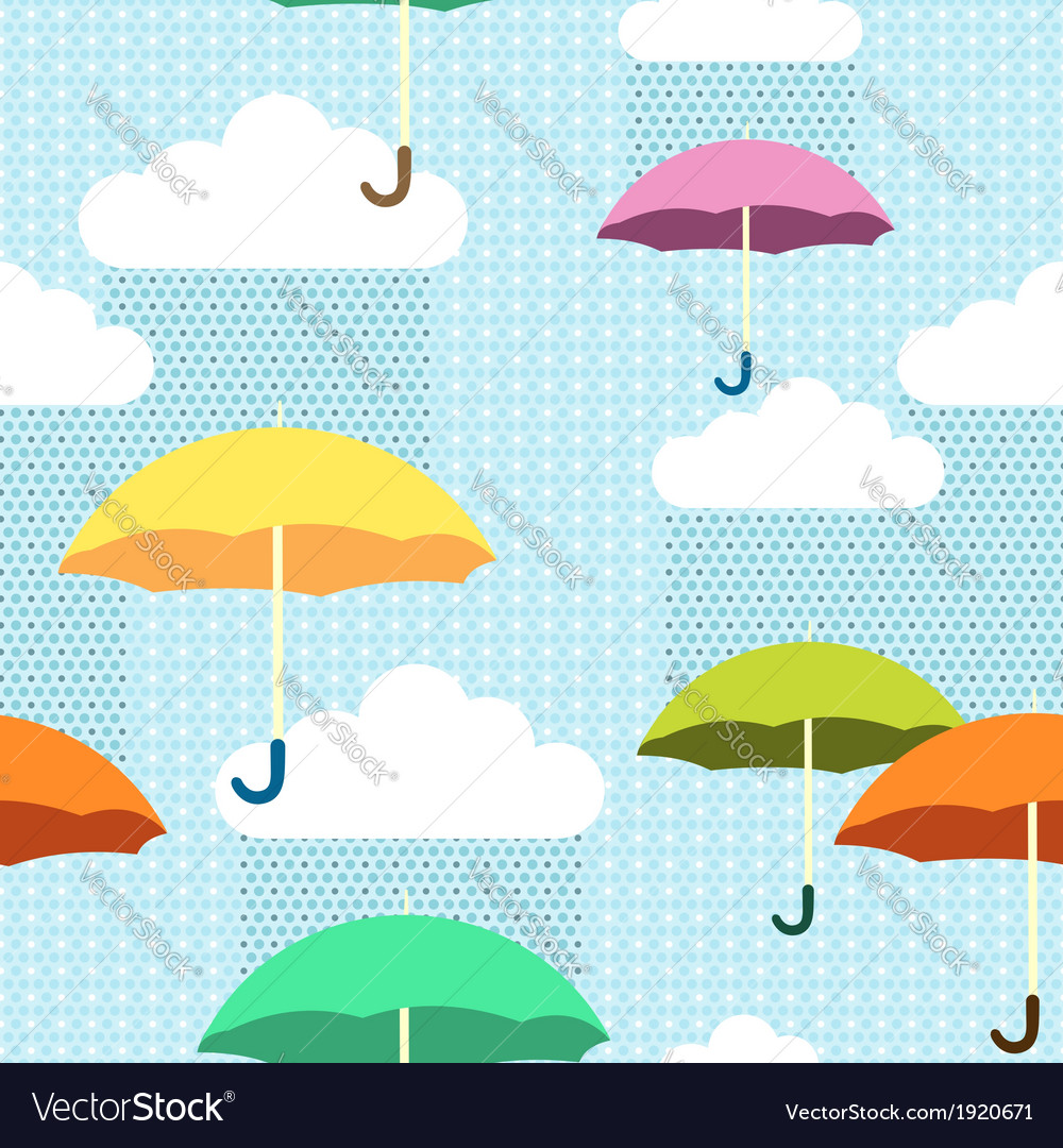 Pattern rain color vector | Price: 1 Credit (USD $1)