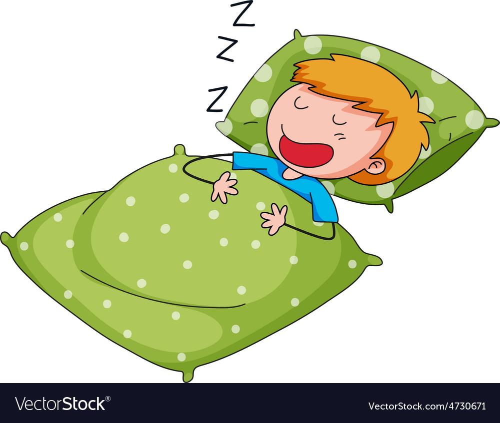 Sleeping vector | Price: 1 Credit (USD $1)