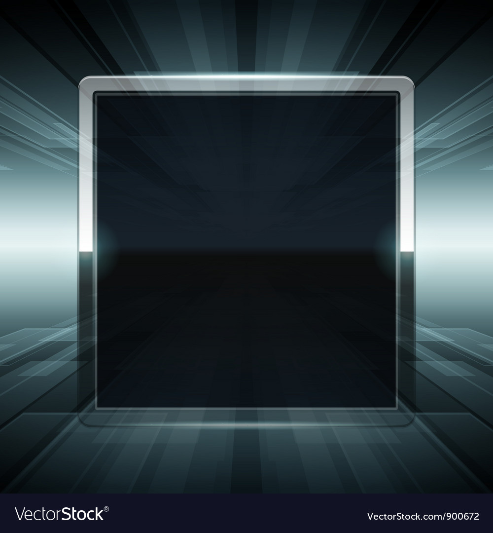 Abstract virtual space screen vector | Price: 1 Credit (USD $1)