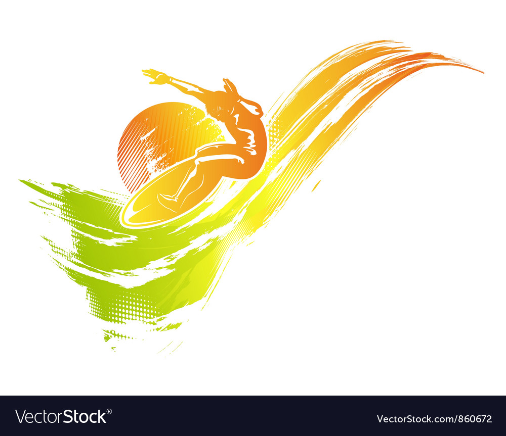 Grunge summer background vector | Price: 1 Credit (USD $1)
