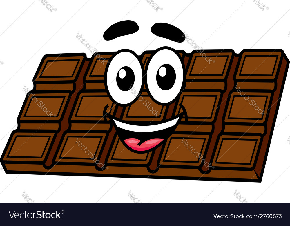 Cartoon chocolate vector | Price: 1 Credit (USD $1)