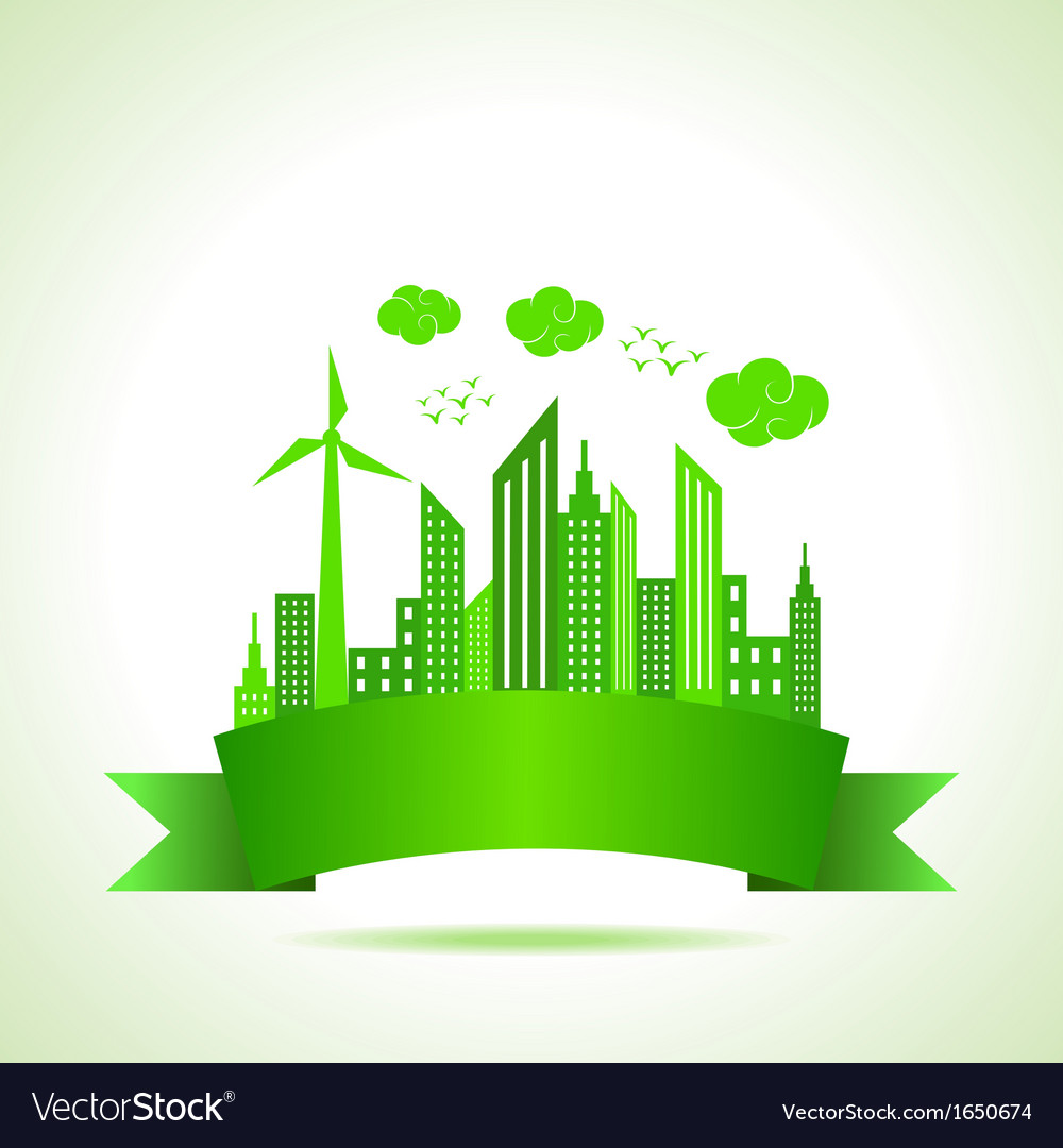 Ecology concept- save nature vector | Price: 1 Credit (USD $1)