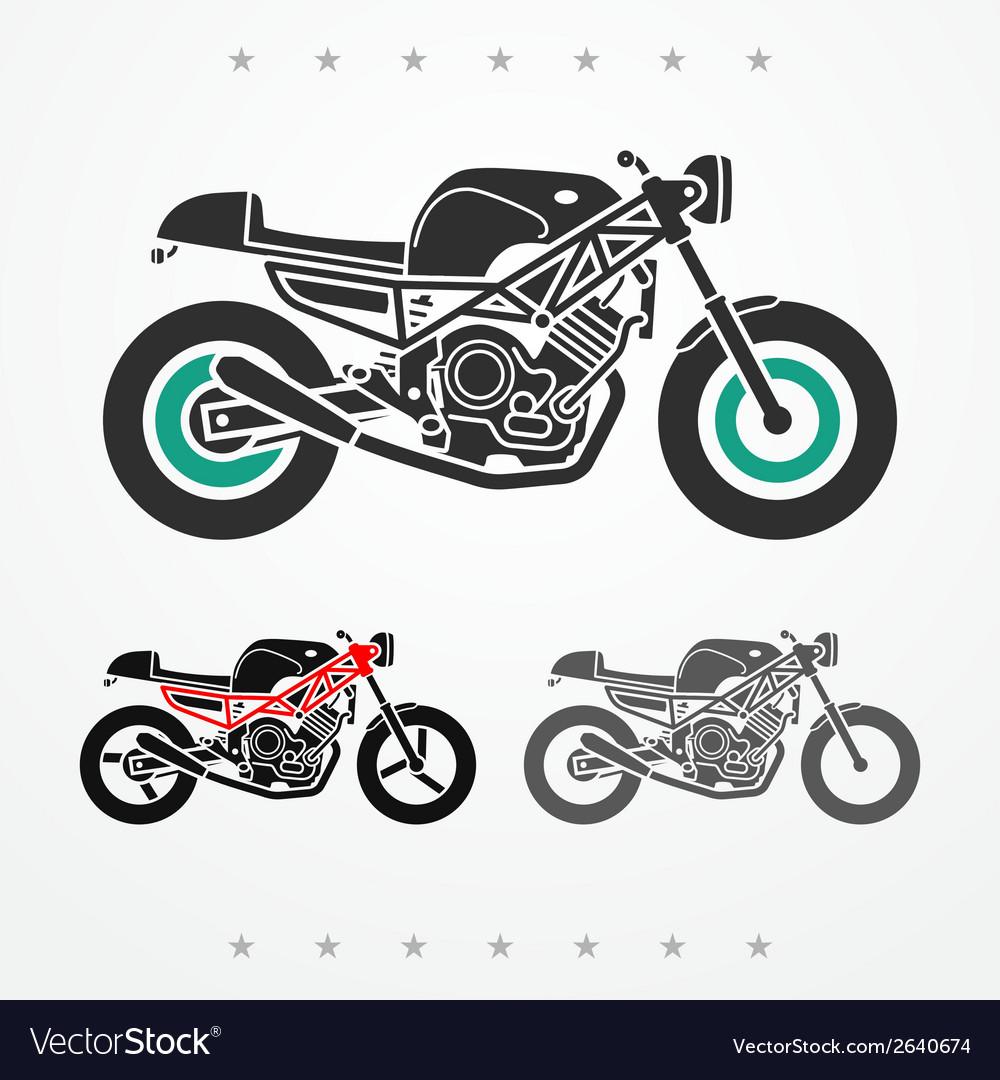Modern road motorcycle vector | Price: 1 Credit (USD $1)