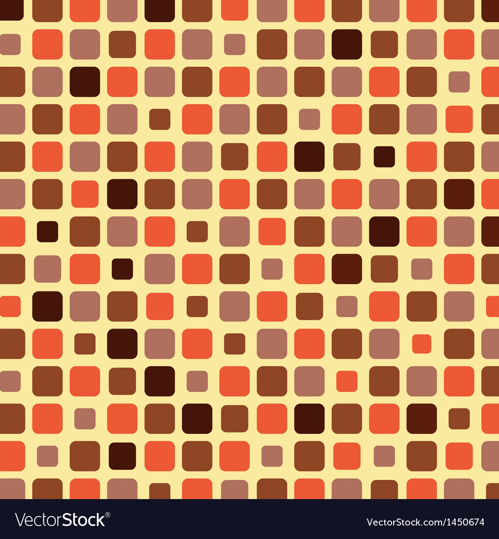 Orange shade tile mosaic background vector | Price: 1 Credit (USD $1)