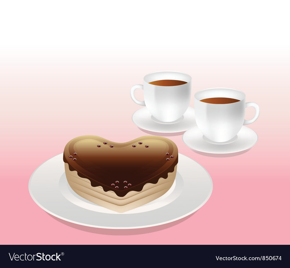 Sweet afternoon tea vector | Price: 1 Credit (USD $1)
