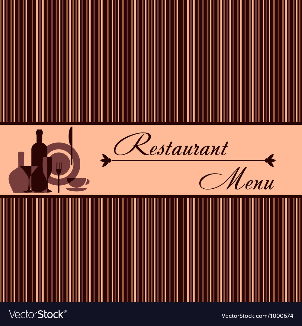 Template of restaurant menu vector | Price: 1 Credit (USD $1)