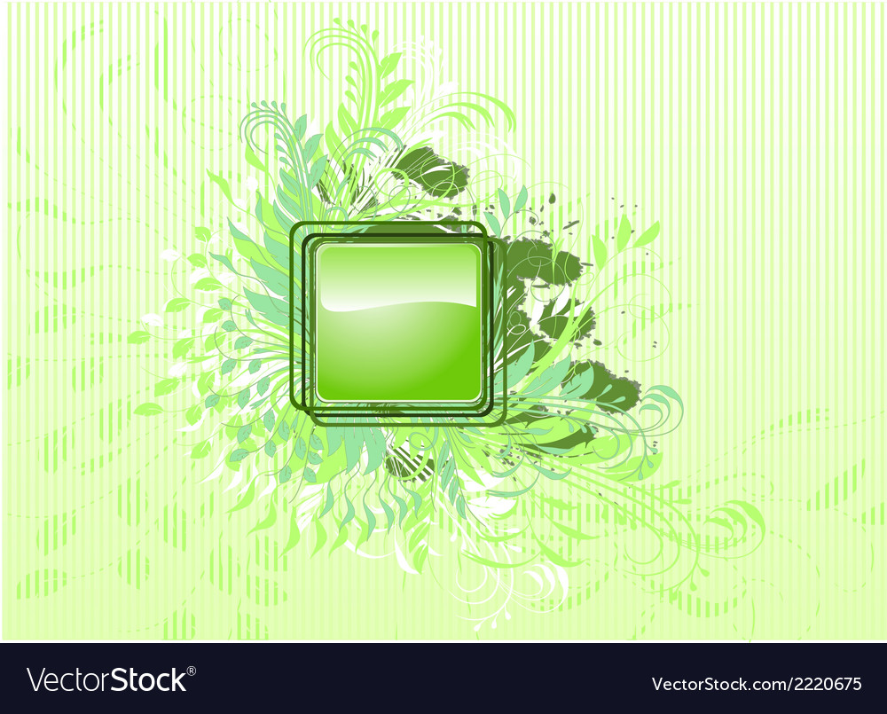 Abstract background with leafs vector | Price: 1 Credit (USD $1)