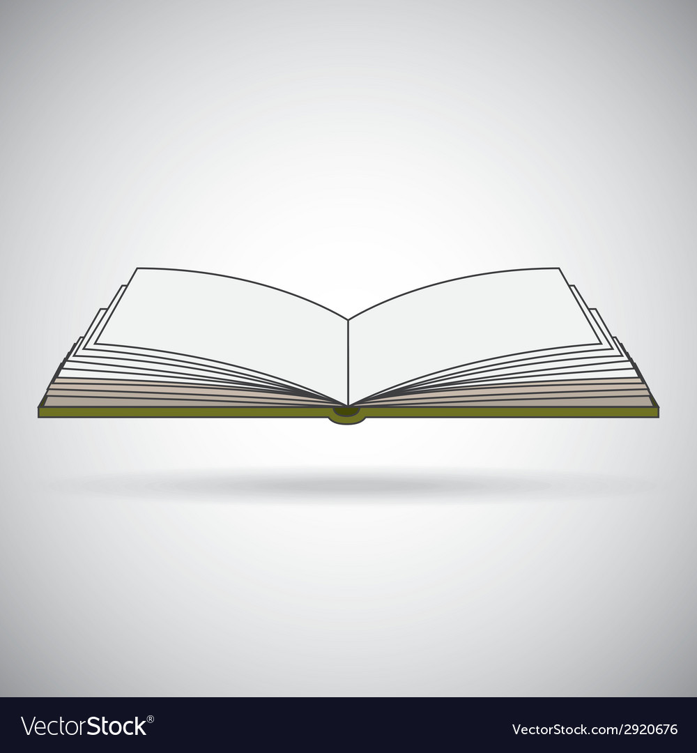 Book graphic vector | Price: 1 Credit (USD $1)